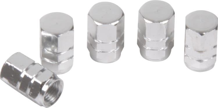 Moto-Quip Aluminium Valve Caps - Set of 5 - default