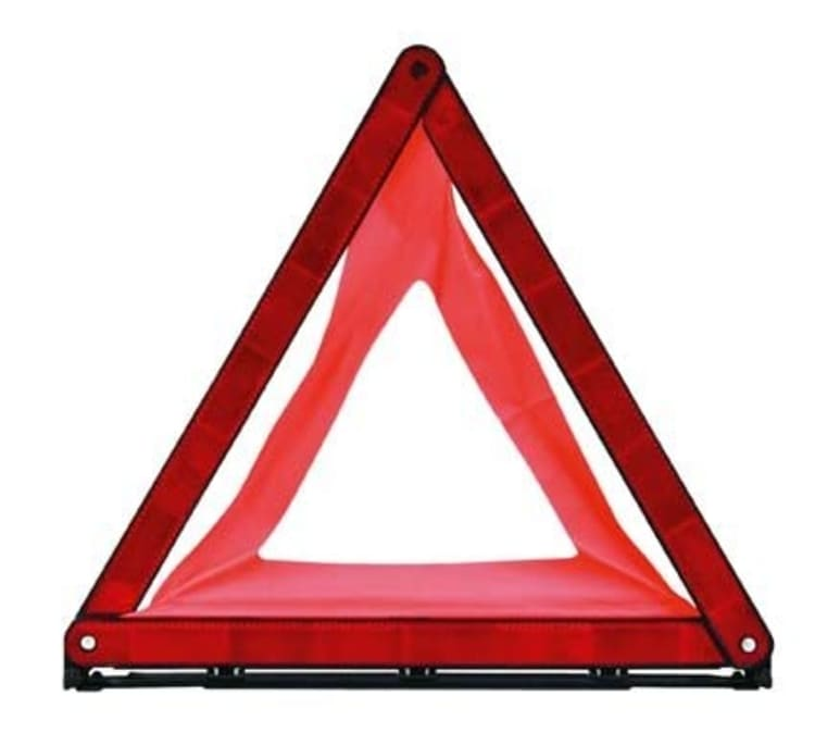 Moto-Quip Foldable Warning Triangle - default