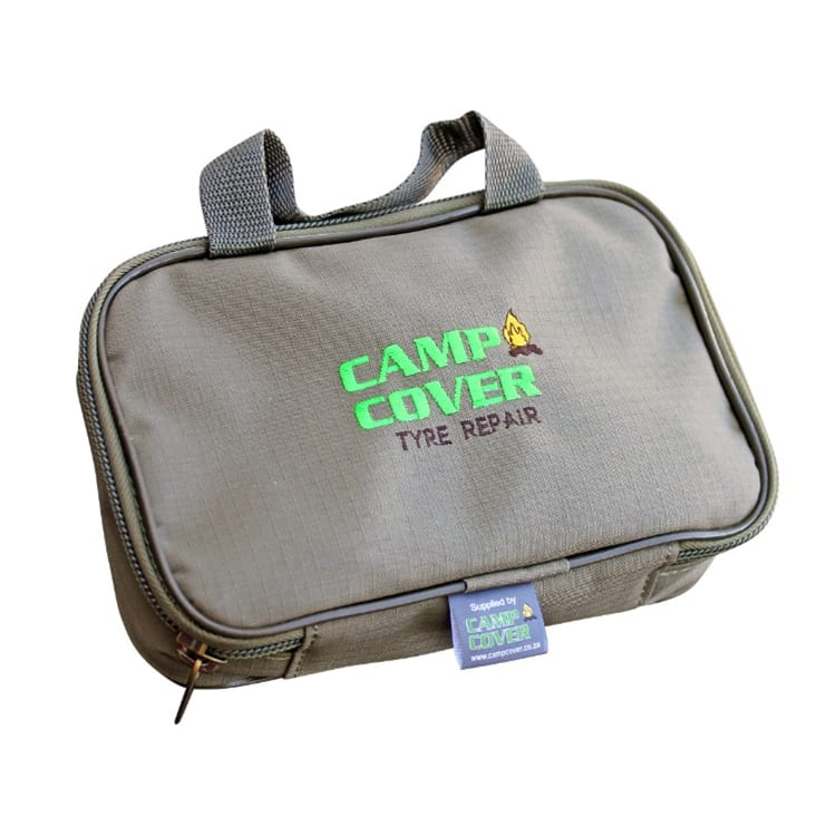 Camp Cover Tyre Repair Ripstop Canvas Bag - default