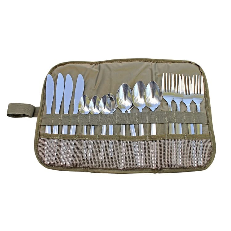 Camp Cover Cutlery Roll-Up - default