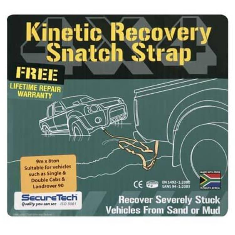 SecureTech 8T Snatch Strap - default