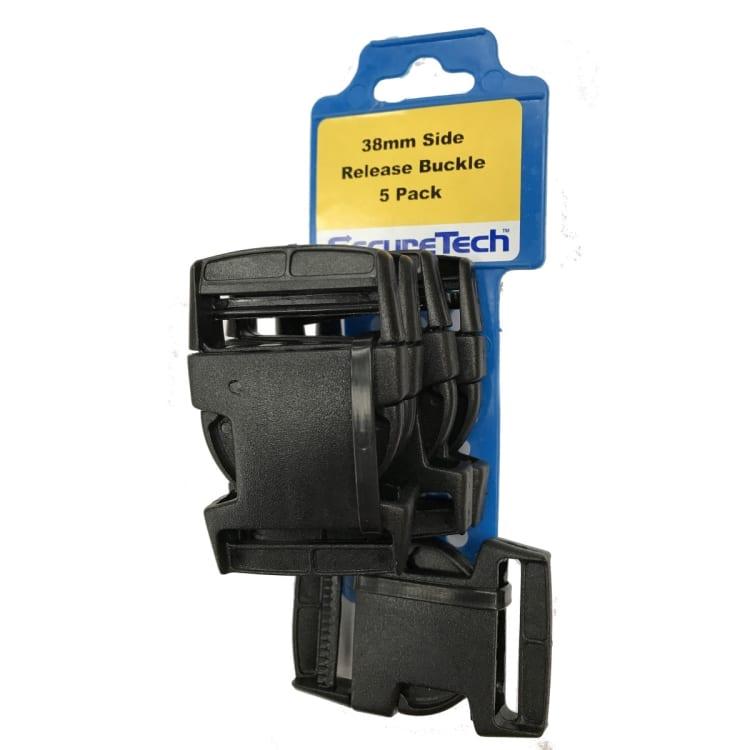 SecureTech 38mm Side Release Buckle x5 - default