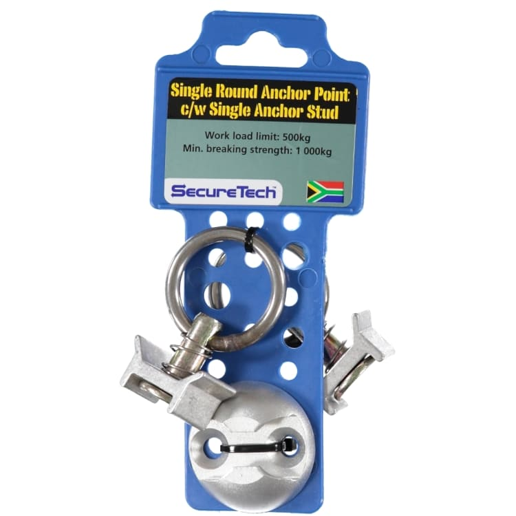 SecureTech Round Anchor Point & Single Stud - default