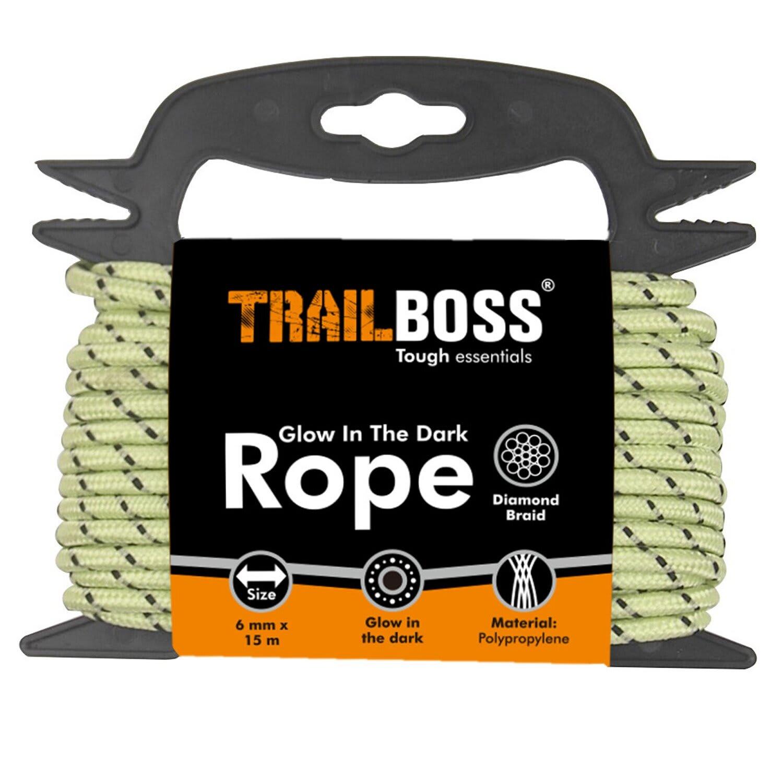 TrailBoss Glow-in-the-Dark Rope
