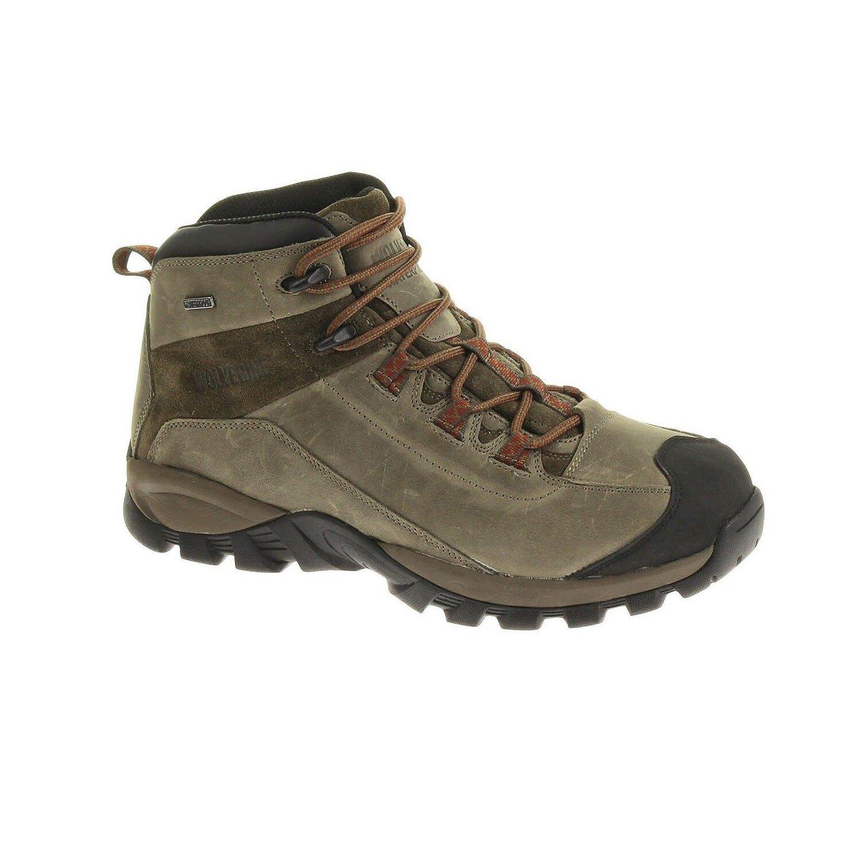 Wolverine Men's Black Ledge Waterproof Mid Cut Hiking Boots