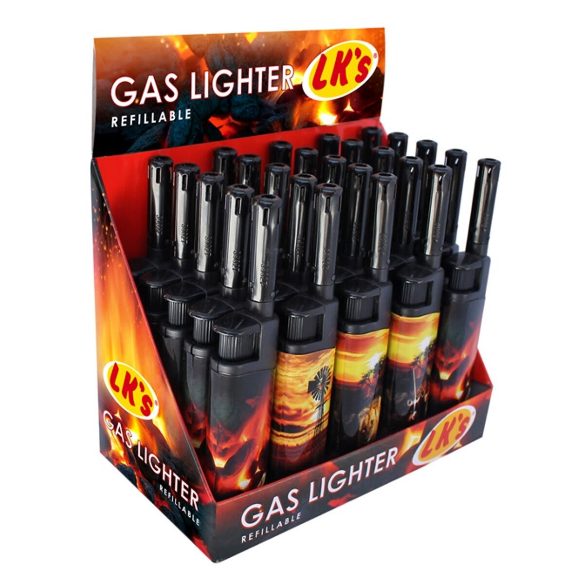 Fireside Short Gas Lighter