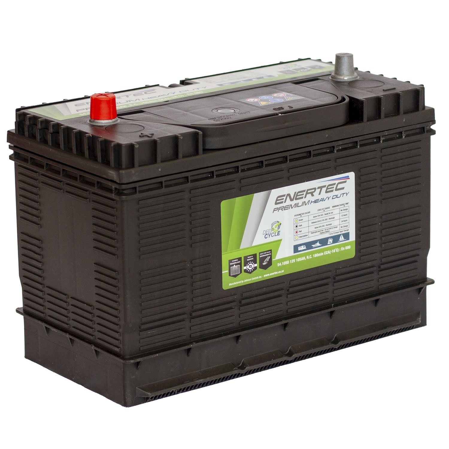 Enertec 105 Amp/hr Leisure Battery