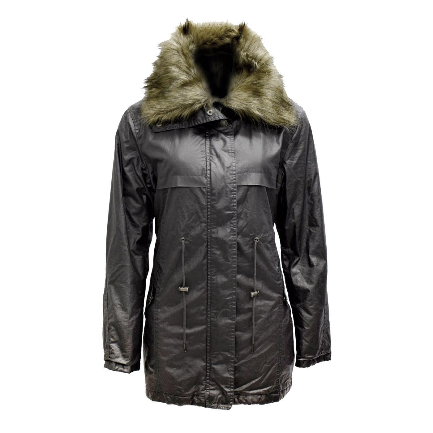 Jeep Ladies Cotton Fur Jacket