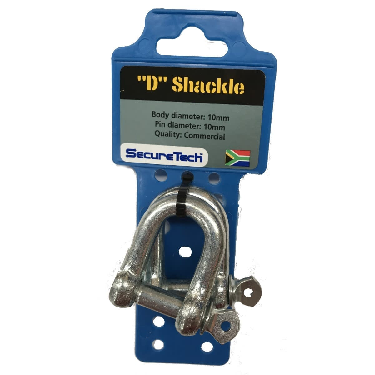 SecureTech D-Shackle 2Pack 10mm
