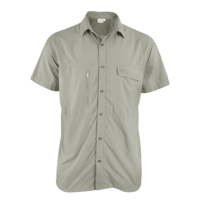 African Nature Men's Anti-Mozi Short Sleeve Shirt