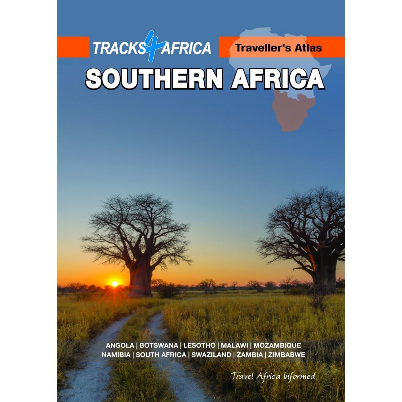 Tracks4Africa Traveller's Atlas