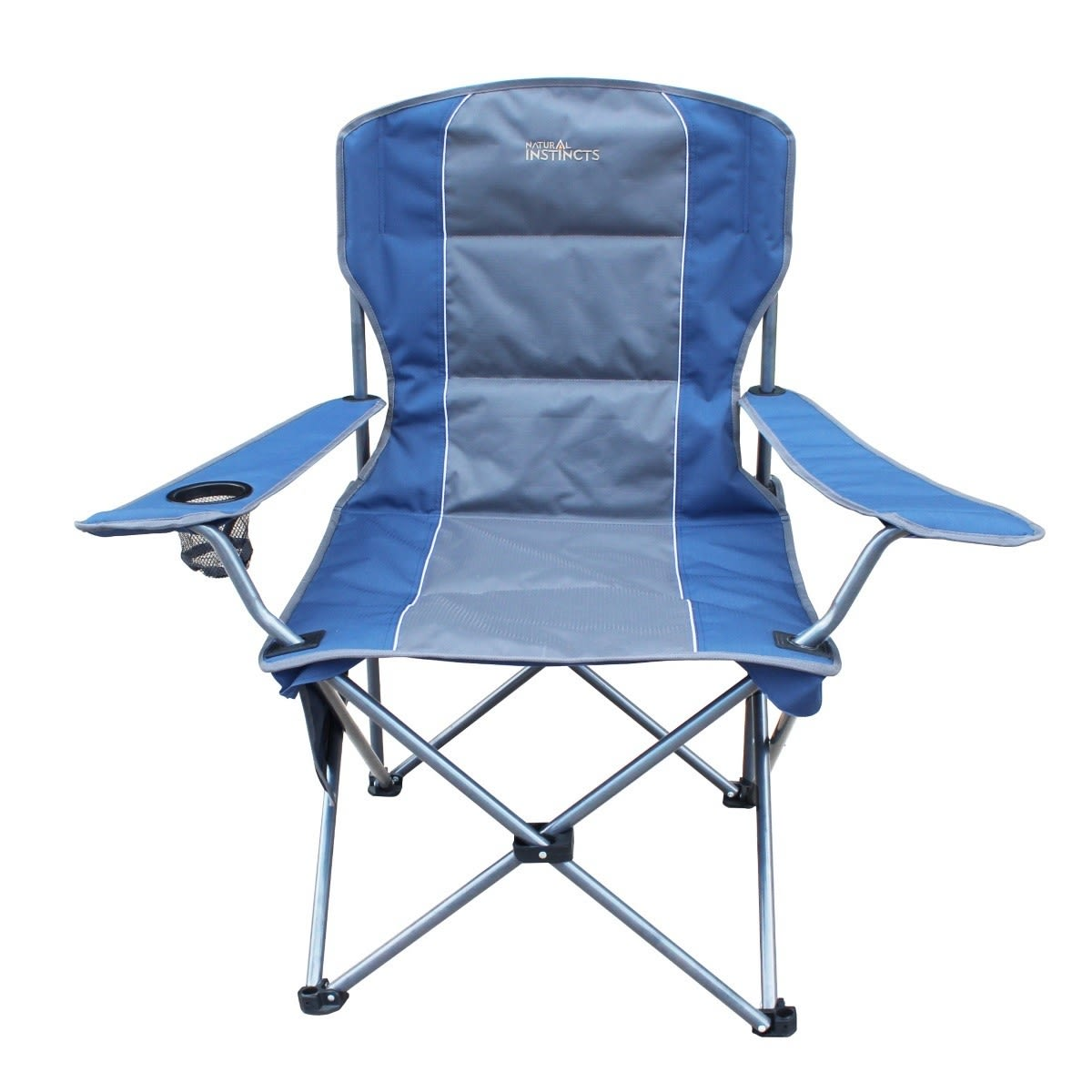 Natural Instincts Adventure Chair with Side Pocket and Cup Holder