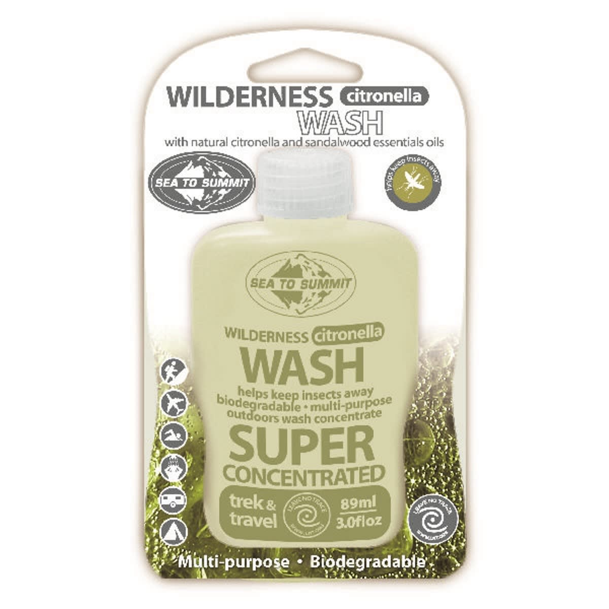 Sea to Summit Wilderness Citronella Wash 89ml