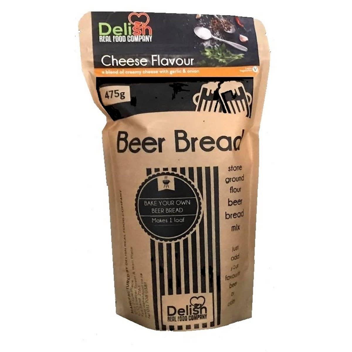 Delish Beer bread cheese