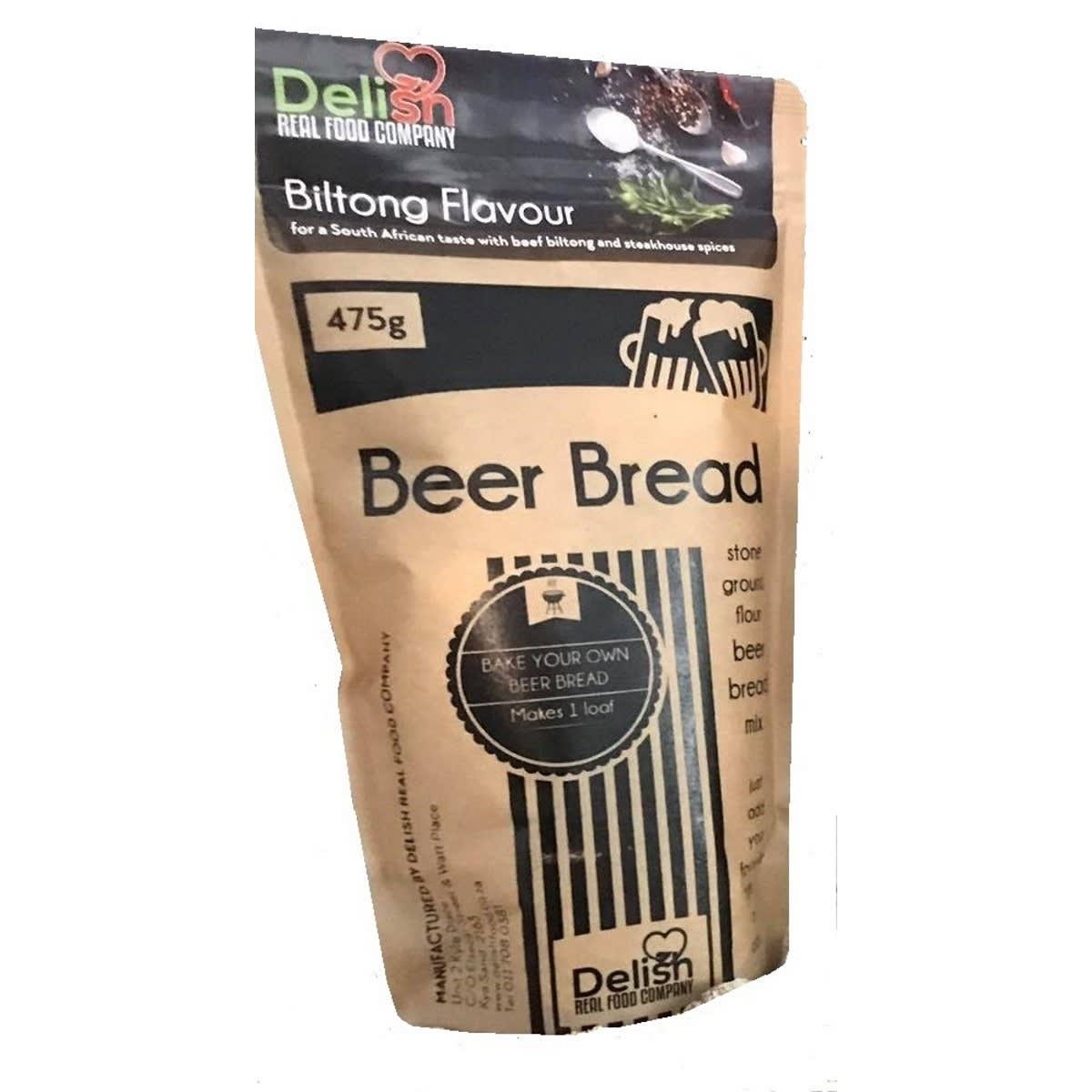 Delish Beer bread biltong