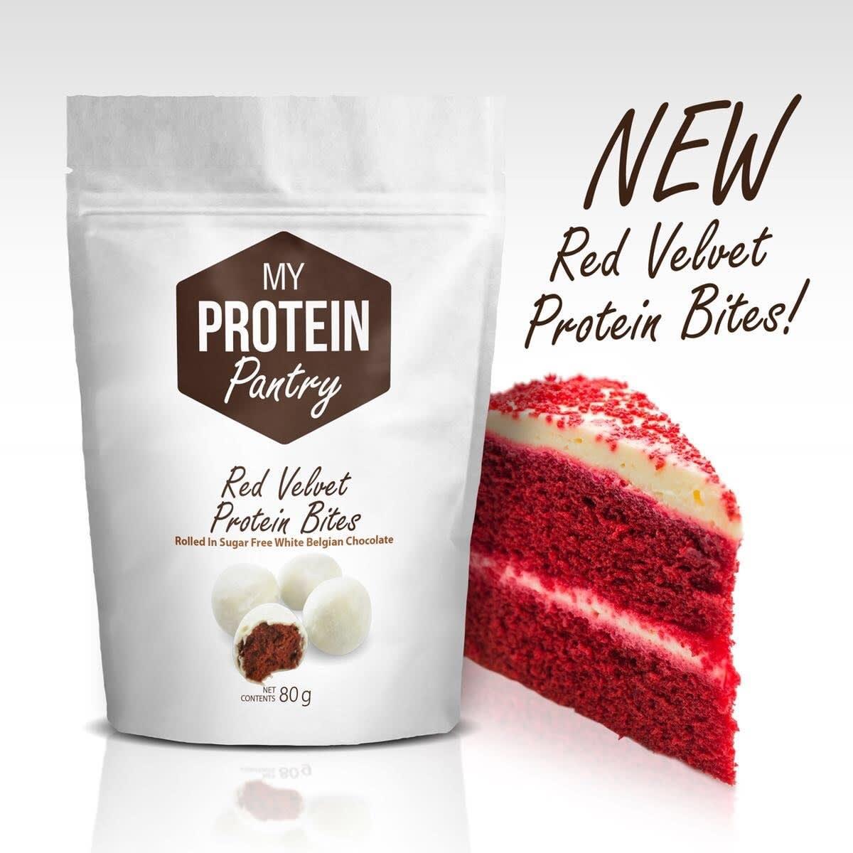 My Protein Pantry Red Velvet bites