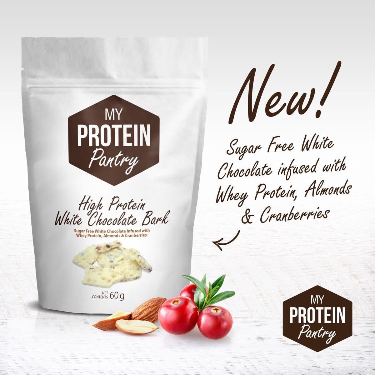 My Protein Pantry white chocolate bark