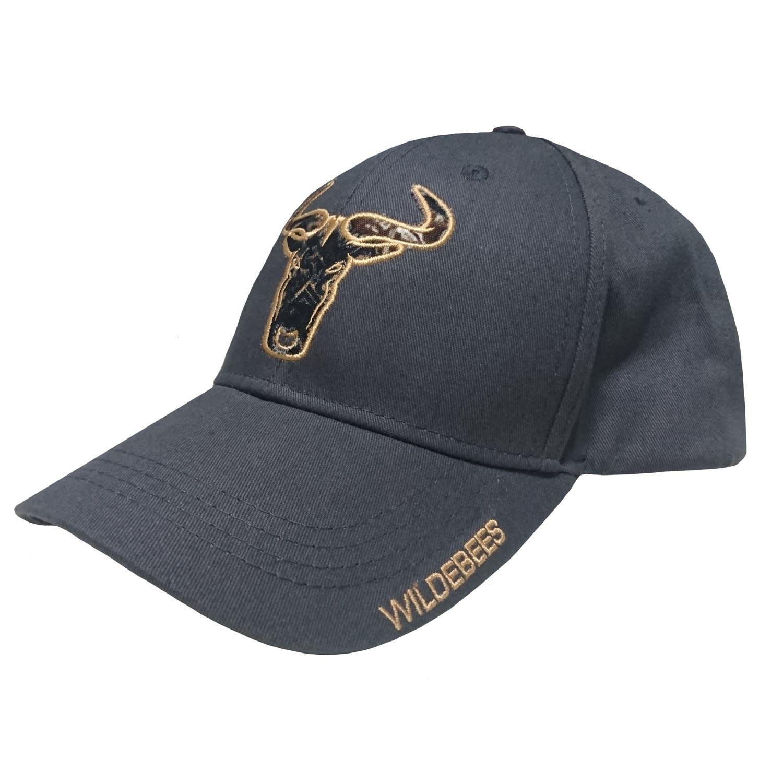 Wildebeest Camo Applique Logo Cap