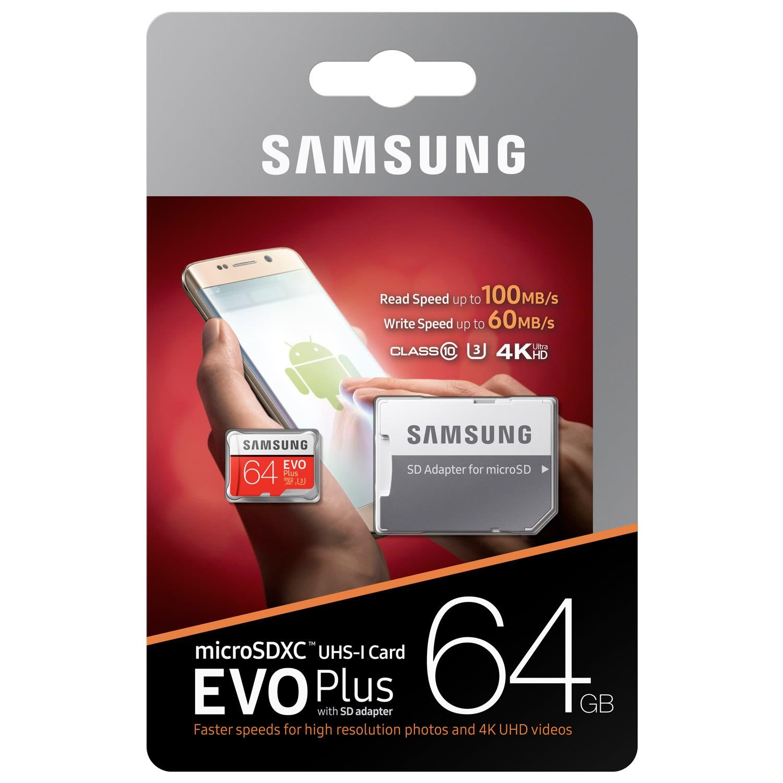 Samsung EVO Micro SD 64GB SDHC