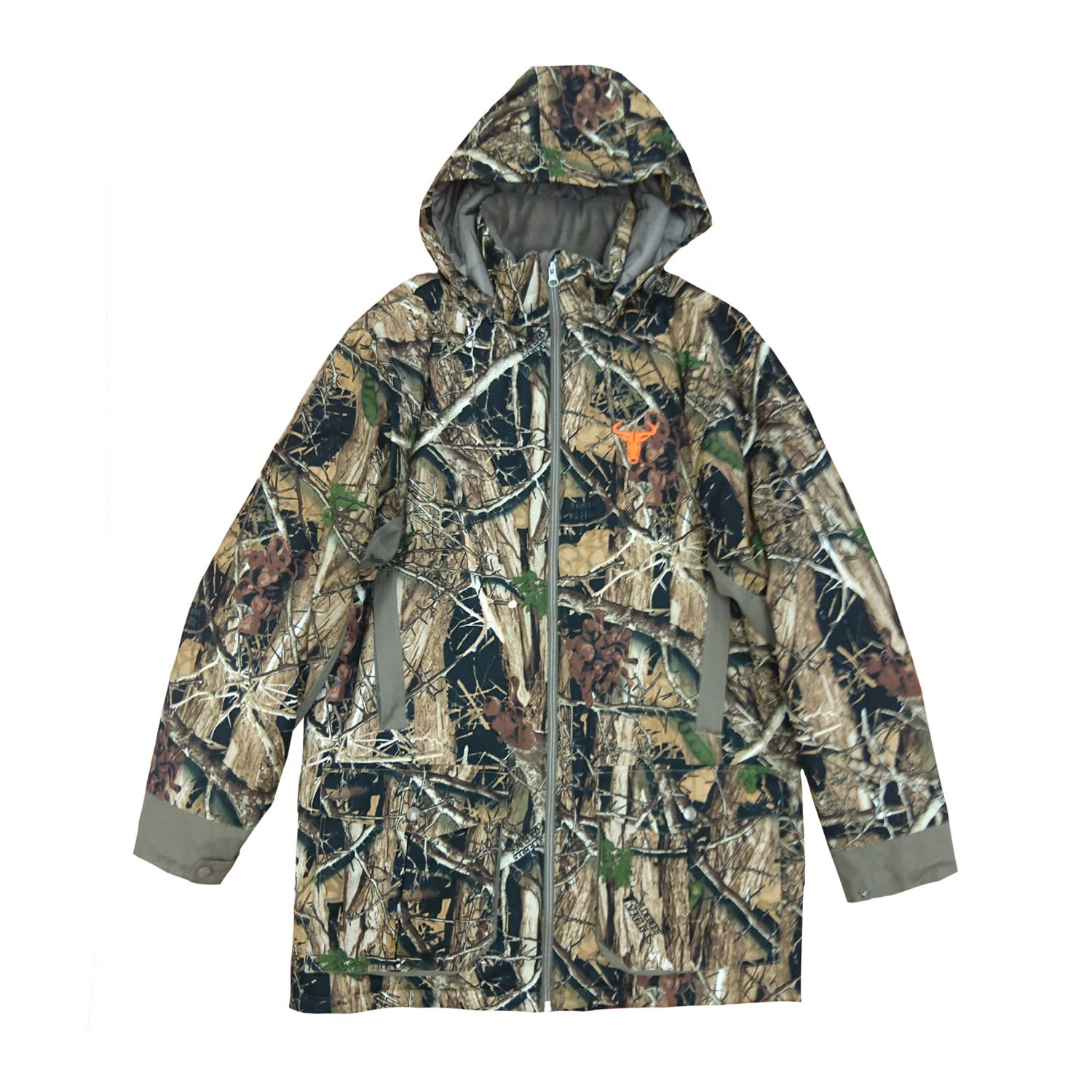Wildebees Men's Camo Bush Jacket