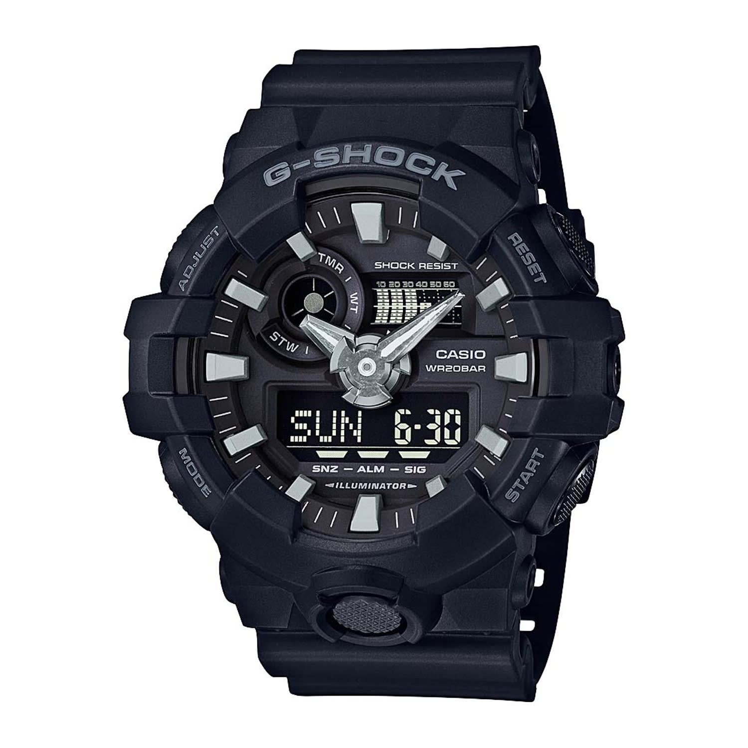 Casio G-Shock Watch Illuminator GA-700