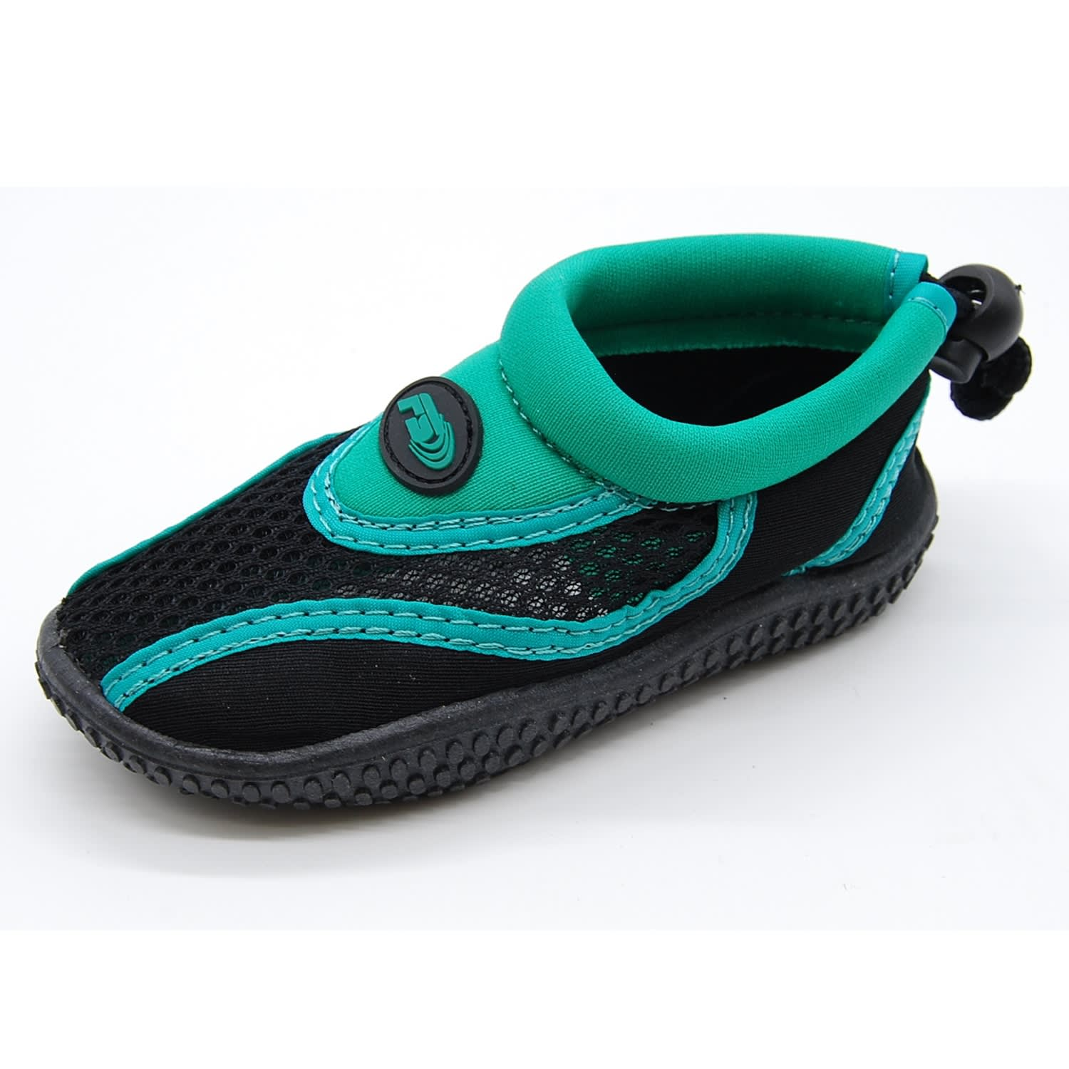 Freesport Infant Aqua Booties Black/Emerald