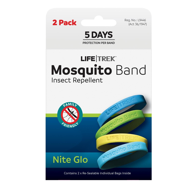 Lifetrek Mosquito Band Nite Glow 2Pack
