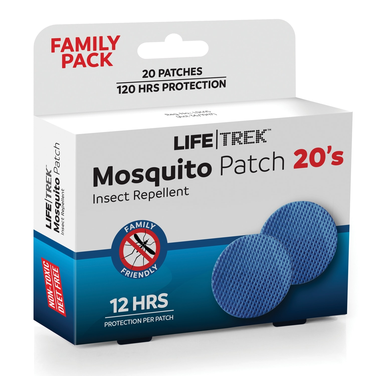 Lifetrek Mosquito Patch 20's