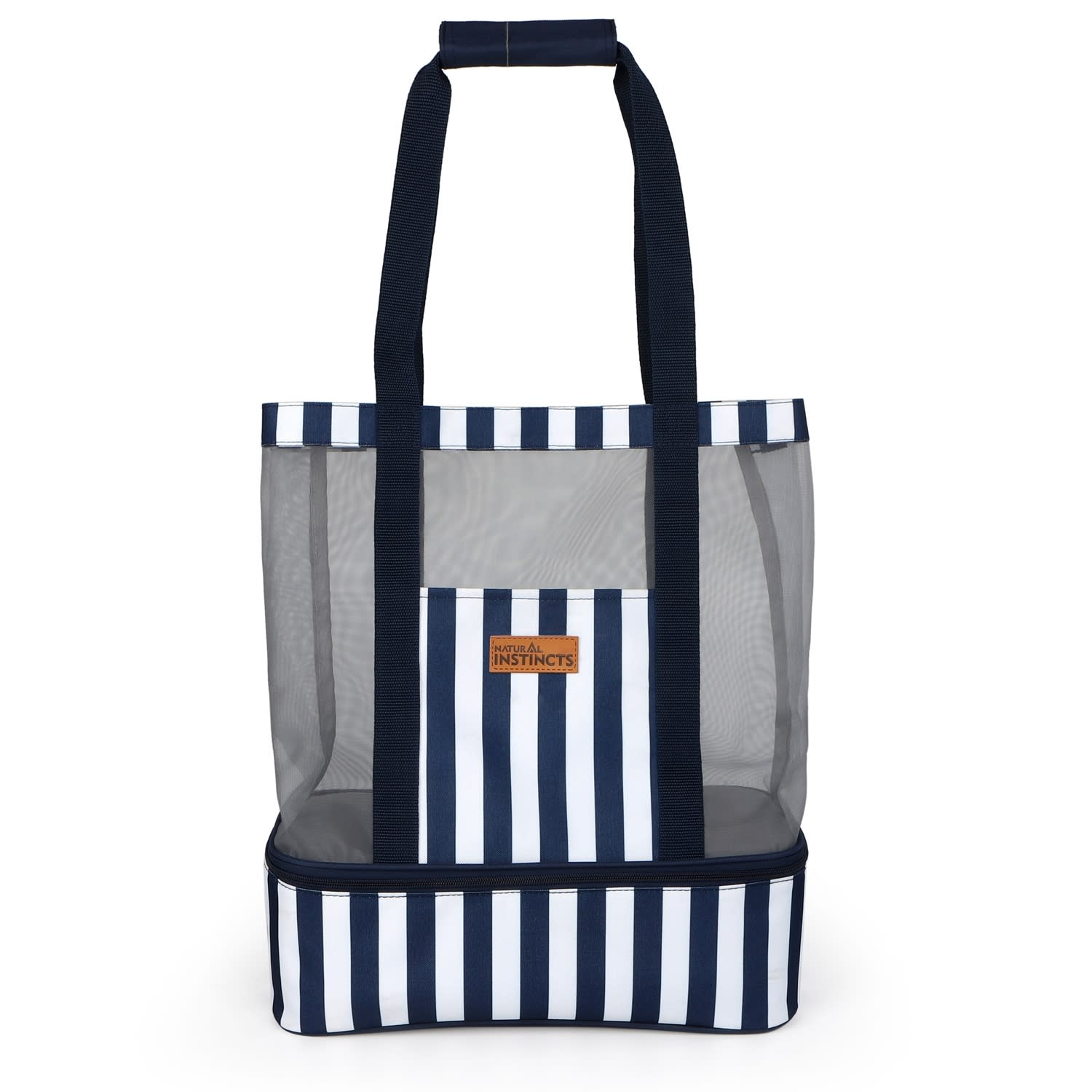 Natural Instincts Beach Cooler bag with mesh