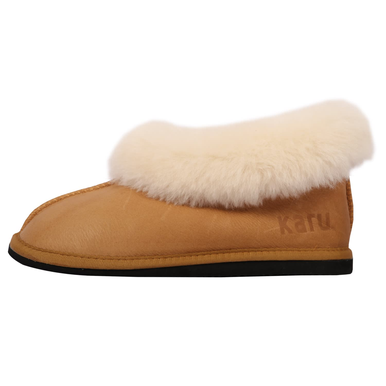 Karu Sheepskin Wool Slippers (Size: 8-12)