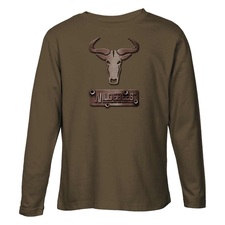 Wildebees Men's Steel Bullet Long Sleeve Tee
