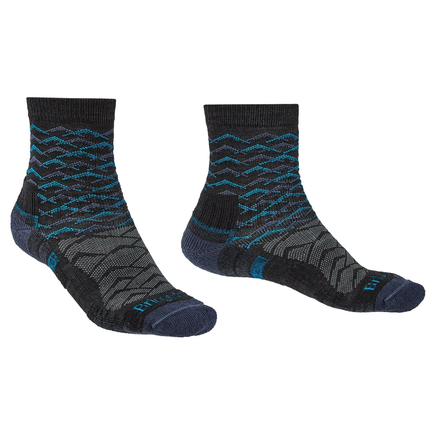 Bridgedale Men's Merino Lightweight Ankle Sock
