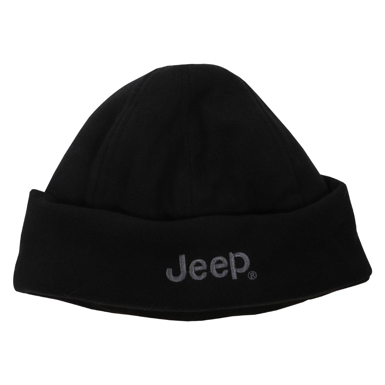Jeep Fleece Turn-up Beanie