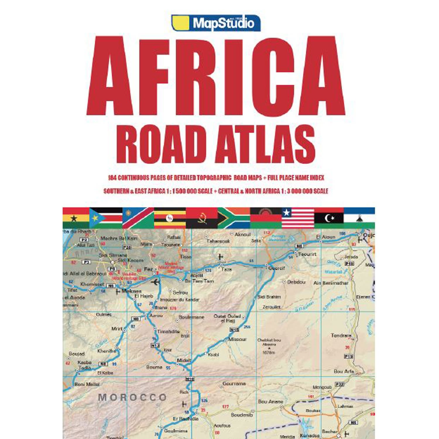 Road Atlas Africa 3rd Edition
