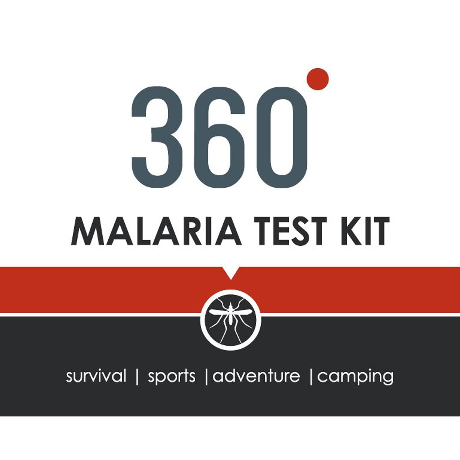360 Malaria Test Kit 2 Pack
