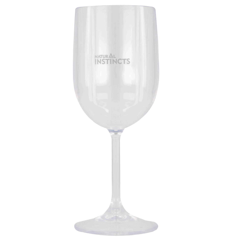 Natural Instincts Wine Glass