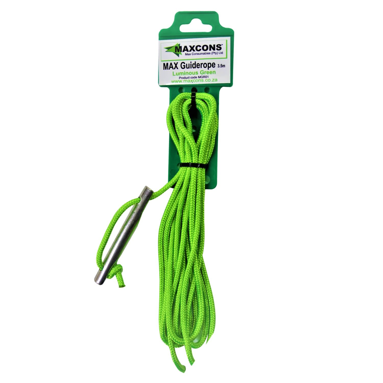 Maxcon Guy Rope 3.5m Luminous Green