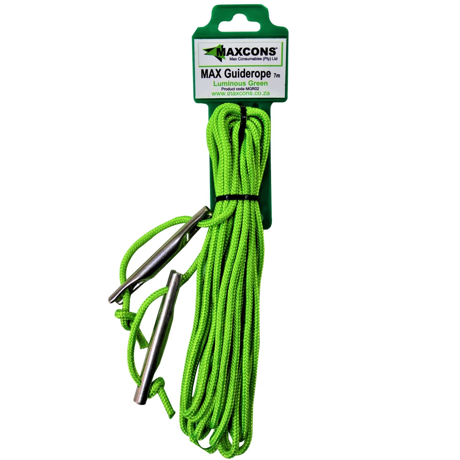 Maxcon Guy Rope 7m Luminous Green