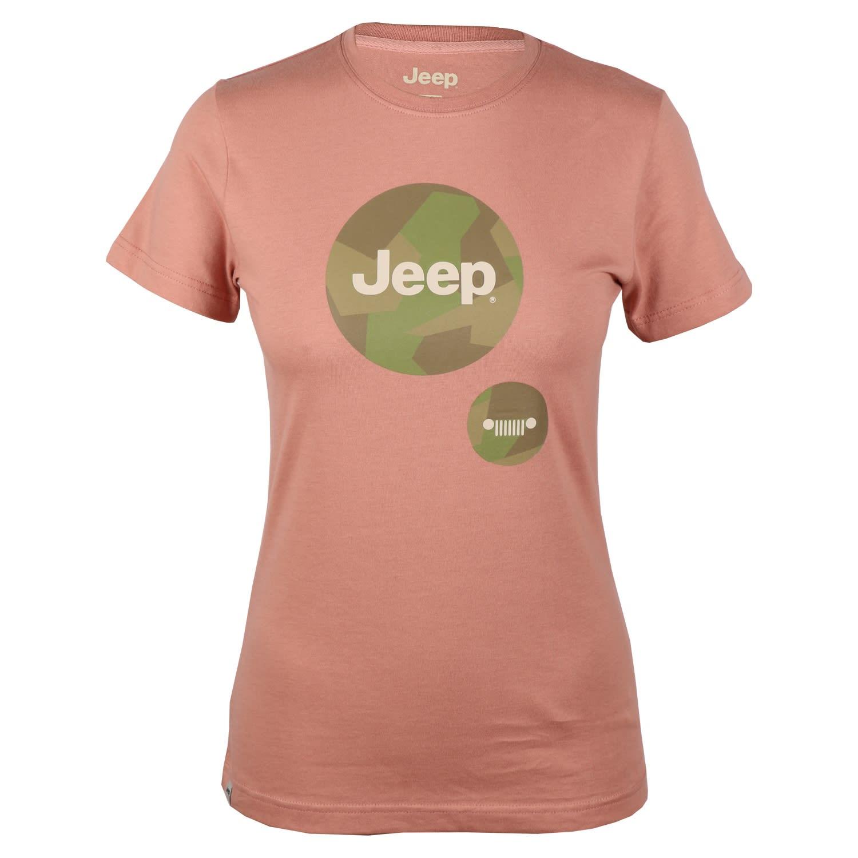 Jeep Women's Camo Logo Tee