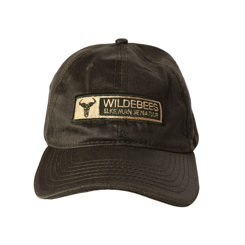Wildebees Oilskin Badge Cap