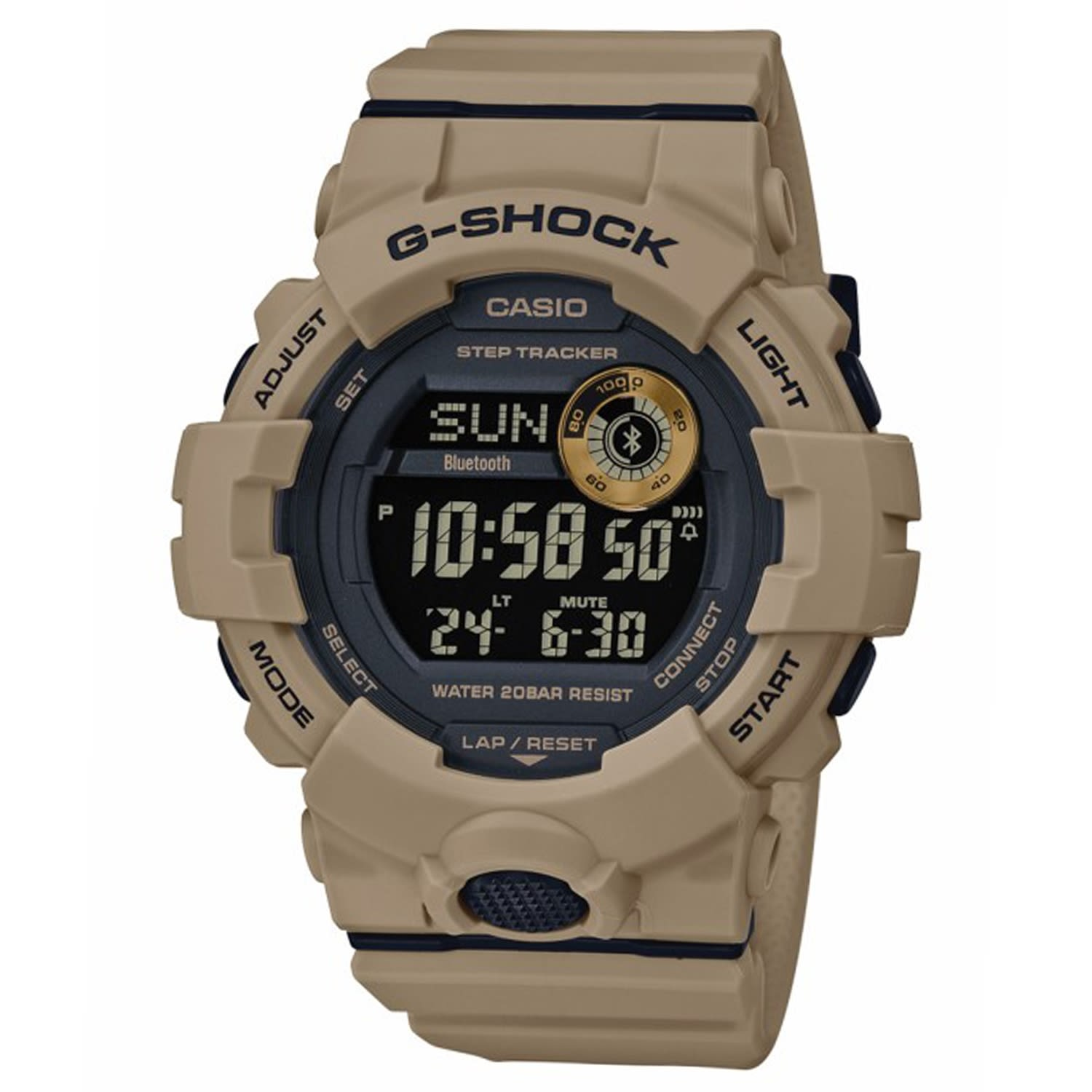 Casio G-Shock Watch Illuminator GBD 800 -5DR
