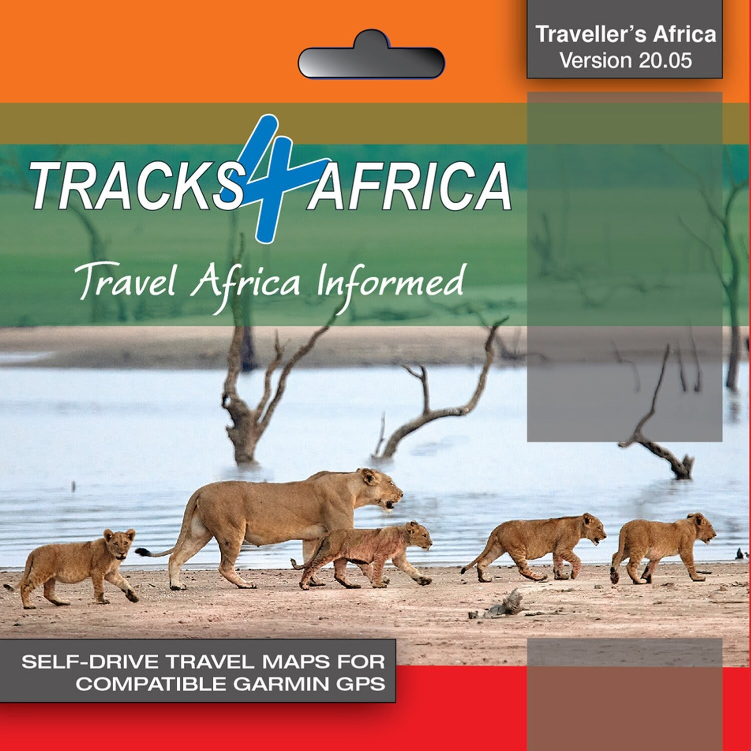 Tracks4Africa GPS Map 20.05