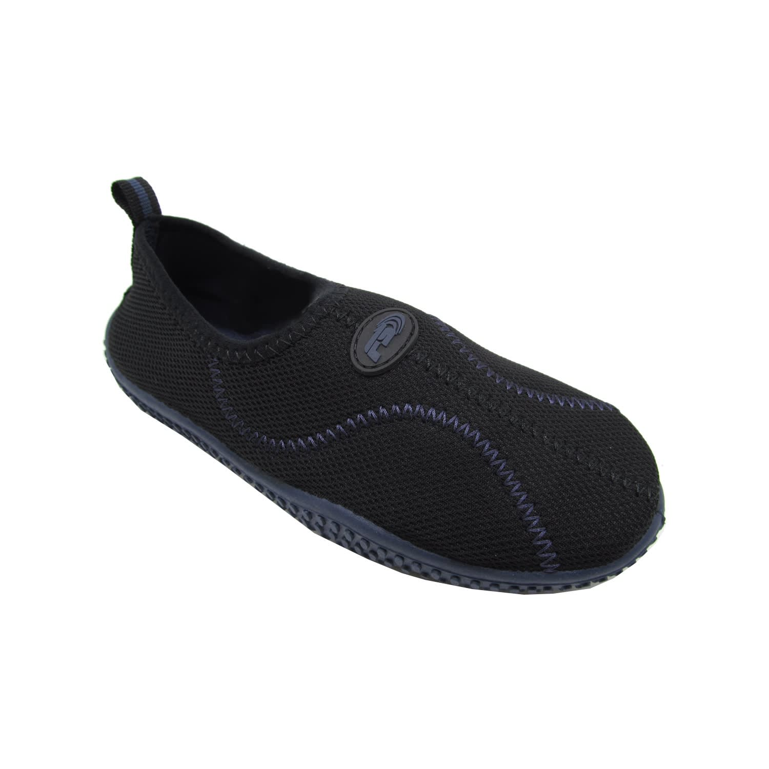 Freesport Slip-On Boys Youth Aqua Booties Navy