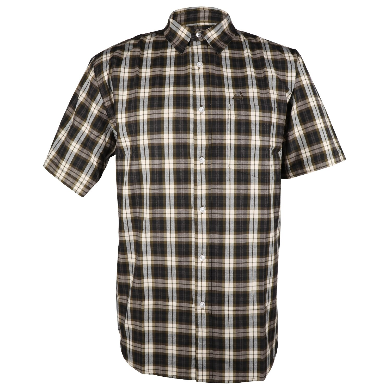 Kakiebos Men's Check Short Sleeve Shirt (3XL-4XL)