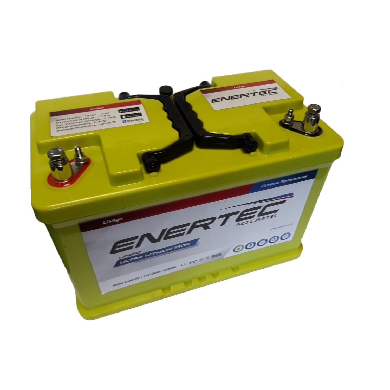 Enertec Ultra Lithium Ion Phosphate 100Ah