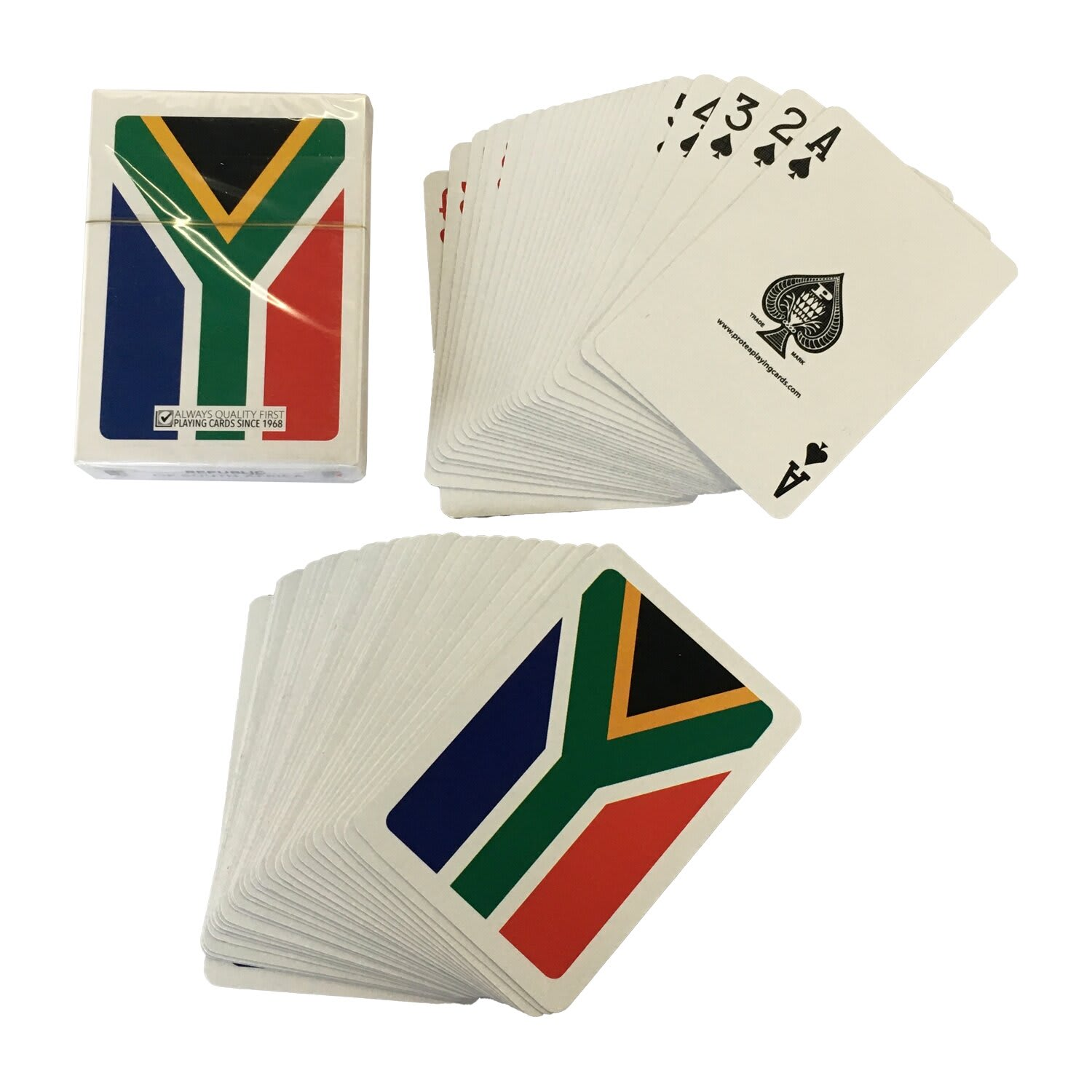 Protea Playing Cards SA Flag