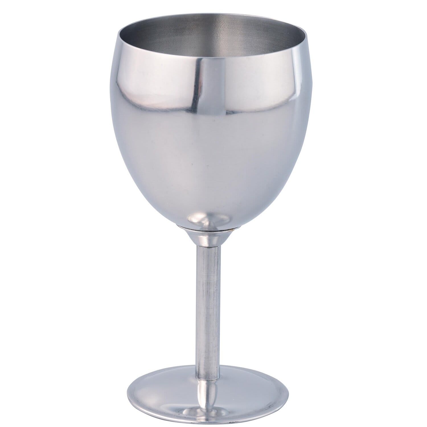 THERMO STEEL 250ML STAINLESS STEEL WINE GOBLET