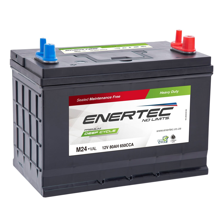 Enertec M24-BLC Deep Cycle Battery