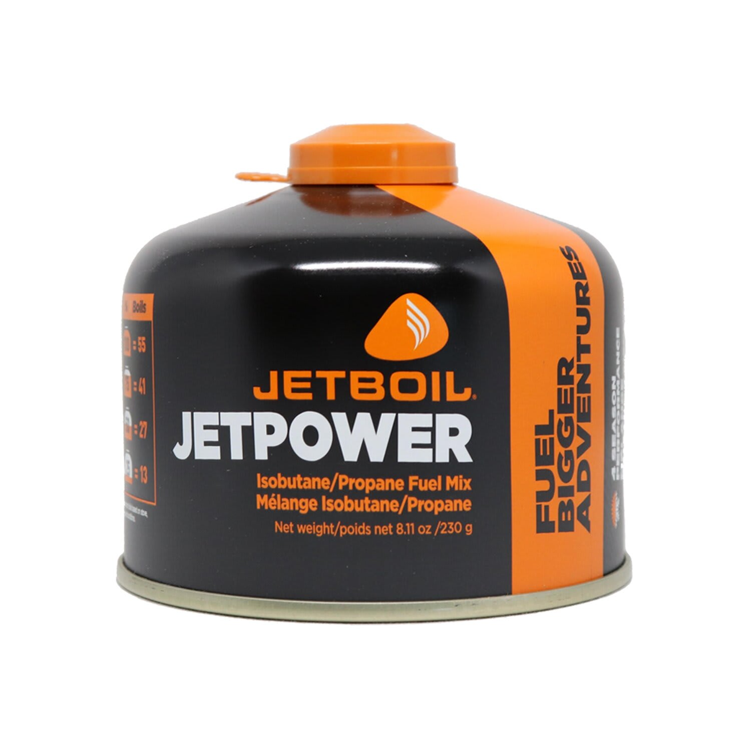 Jetboil Jetpower Fuel 230g Canister.