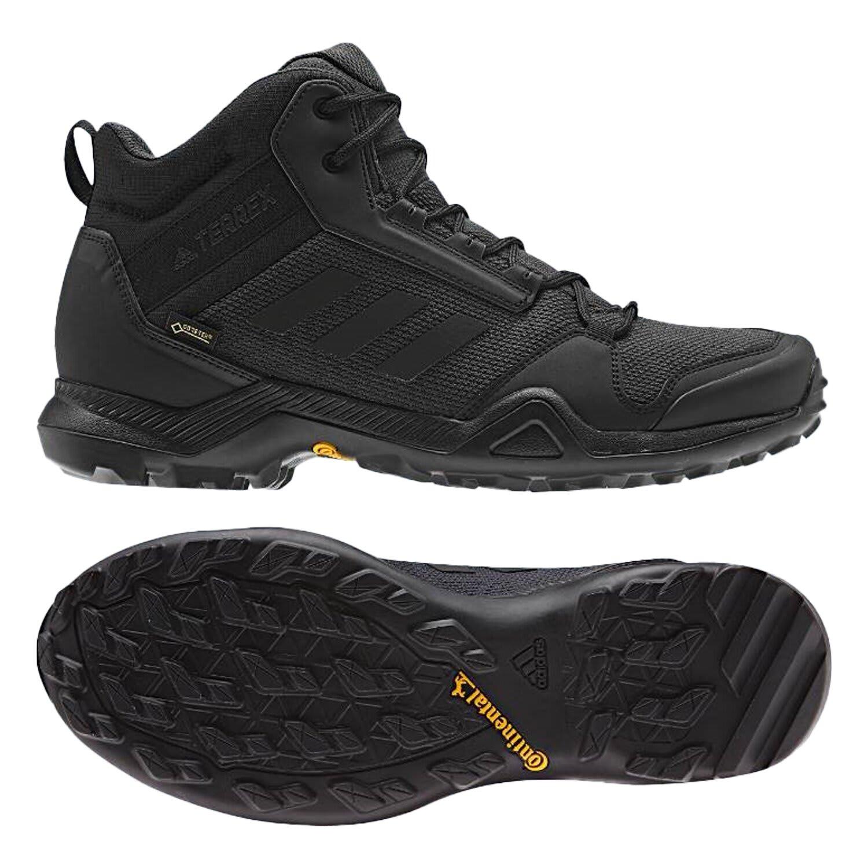 Adidas Men's Terrex AX3 Mid GTX- Core Black/Core Black/Carbon